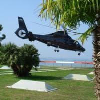Euroflora, si arriva anche in elicottero
