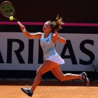Tennis, Fed Cup, Belgio-Italia 1-0