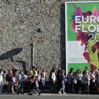 Euroflora al debutto, le foto della prima giornata