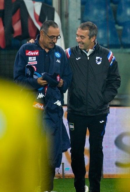 Sampdoria-Napoli, il film della partita