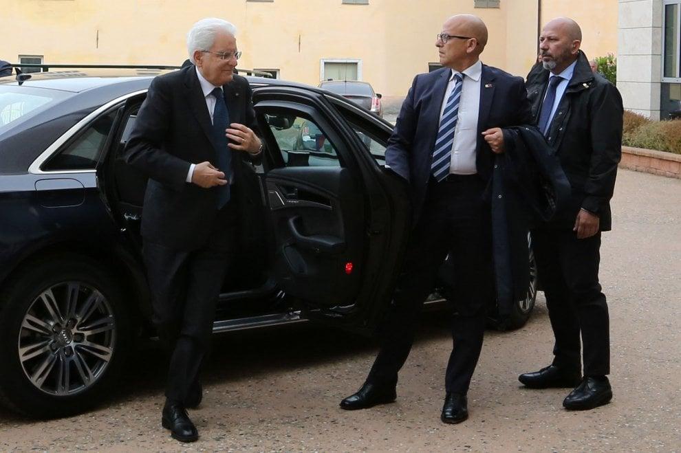 Il presidente Mattarella al Gaslini