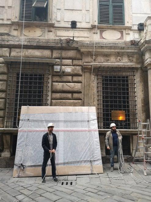 Palazzo Imperiale, il proprietario torna a casa, 392 anni dopo