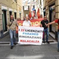 I lavoratori del gruppo Malacalza in sciopero