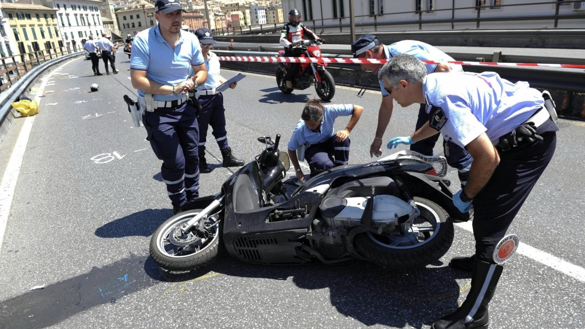 fe268a30866 Liguria al top per incidenti di moto e scooter