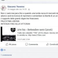 """Il leader di Lealtà Azione amico di Lega e Forza Italia: """"Ebrei lurida razza dal naso..."""