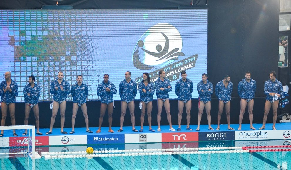 Final eight di pallanuoto, Pro Recco in finale