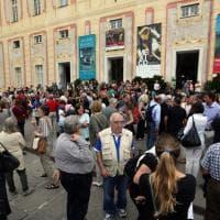 In piazza per Aquarius: in piazza De Ferrari la mobilitazione a Genova