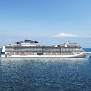 Msc Crociere, ordine da 900 milioni per la quinta nave della classe Meraviglia