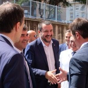 """Salvini a Genova: """"Capisco il dolore della madre, ma se suo figlio non avesse accoltellato sarebbe ancora vivo"""""""