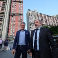 Il sindaco Bucci a Begato: