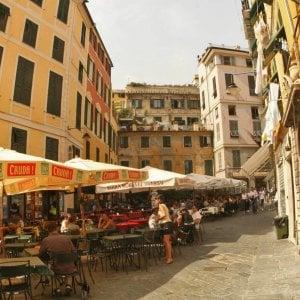 Genova, aggressione in via dei Giustiniani