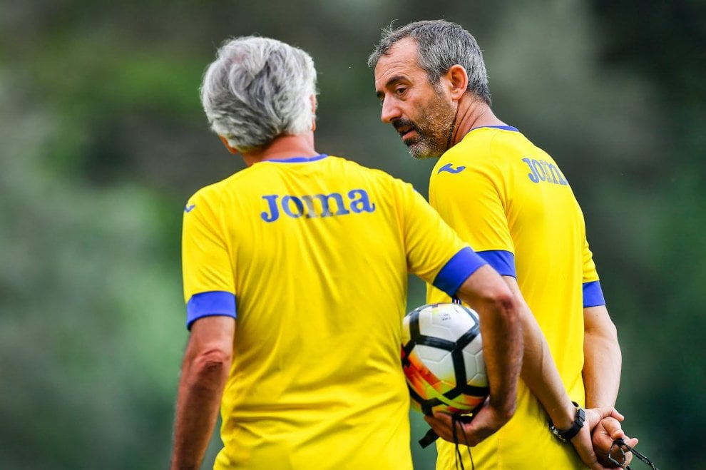 Samp, primi allenamenti a Bogliasco