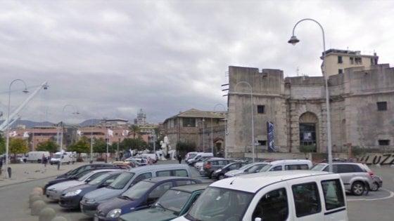 Primo Daspo urbano della polizia a Genova