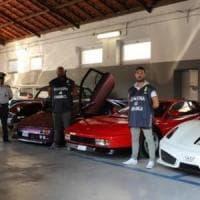 Maxisequestro di auto di lusso a milionario nullatenente