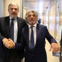 Incontro Ferrero-Bucci sulla vendita dello stadio