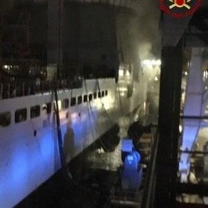 Incendio su nave militare al Muggiano, nessun ferito