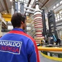 Ansaldo Energia, rischio esuberi in autunno