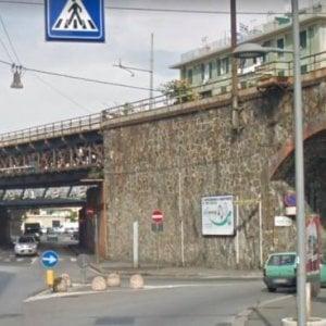 Rivarolo, traffico rivoluzionato per abbattere il ponte della ferrovia