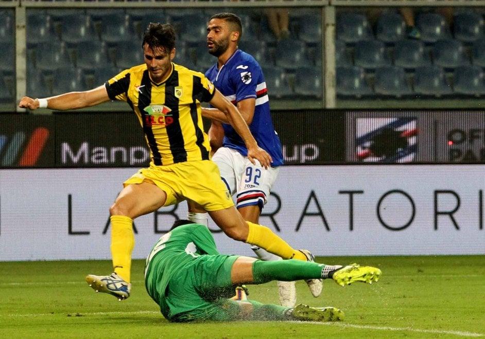 Sampdoria batte la Viterbese 1-0 e passa il turno in Coppa Italia