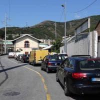 Crollo ponte Morandi, la città bloccata nel traffico
