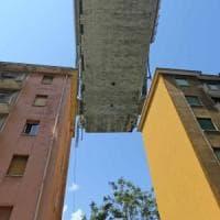 Crollo ponte Morandi, la rottura di uno strallo