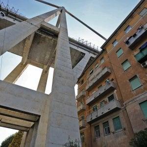 """Crollo Ponte Morandi, un mese fa l'incontro fra abitanti e Autostrade a Tursi: """"Qualcosa è caduto sui tetti"""""""