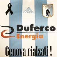 L'Entella scende in campo per Genova