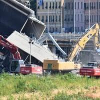 Crollo ponte Morandi, i consulenti della Procura sul posto