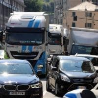 Crollo ponte Morandi, il traffico in città