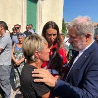 Ponte Morandi, il sindaco Bucci ai funerali del dipendente Amiu