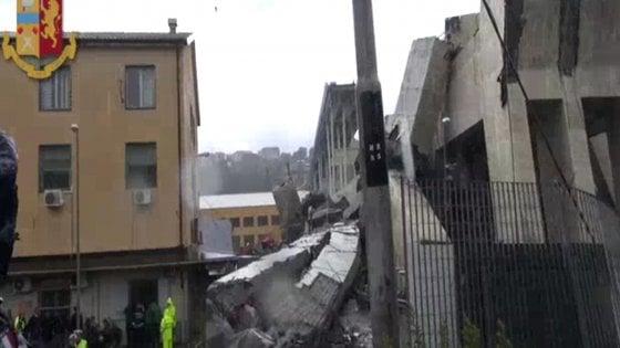Crollo ponte Morandi, periti dei pm: grave degrado della parte ovest