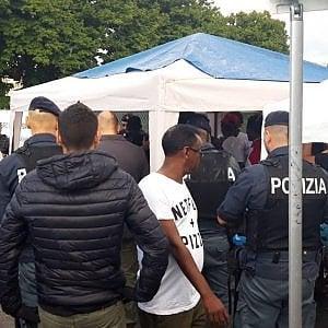 A Ventimiglia migranti della Nave Diciotti