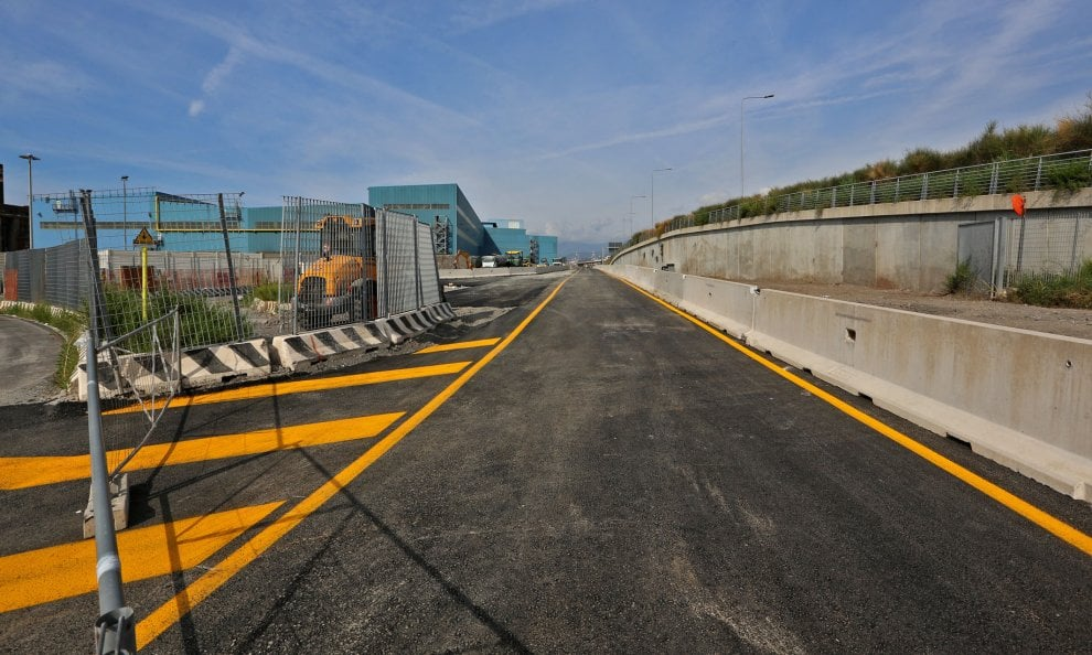 Crollo Ponte Morandi, ultimi ritocchi per la Strada del Papa