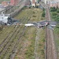 Crollo Ponte: il ripristino della ferrovia entro i primi di ottobre