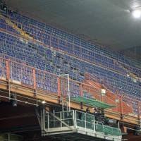 Sampdoria-Fiorentina, la gradinata semivuota