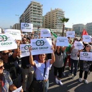 Qui! Group, dopo la protesta i licenziamenti
