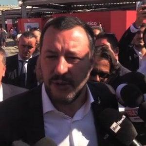 """Salvini al Nautico: """"Non ci sarà aumento dell'Iva"""""""
