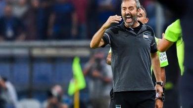 """Samp, Giampaolo: """"Con l'Inter serve  una partita perfetta"""""""