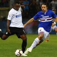 L'Inter batte la Sampdoria 1-0, le foto del secondo tempo