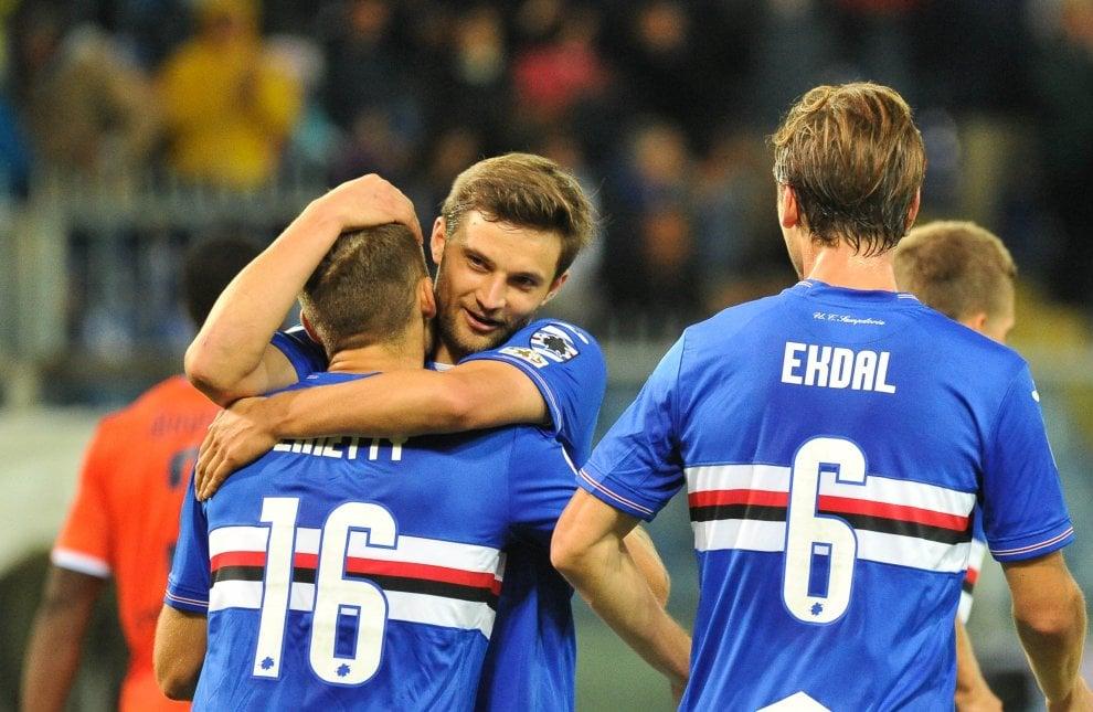Sampdoria-Spal, il fotoracconto della partita