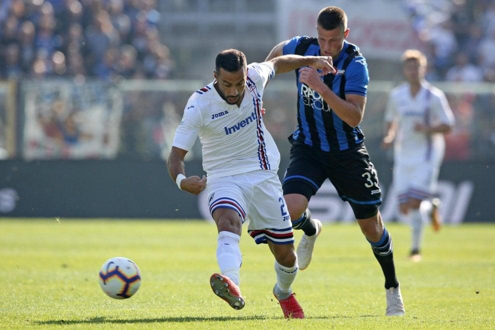 Atalanta-Sampdoria, il fotoracconto della partita