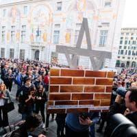 Val Polcevera in corteo, le immagini della manifestazione