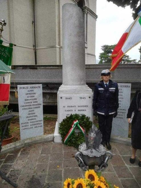 Savona, camicie nere celebrate assieme a carabinieri e alpini dal sindaco di Forza Italia