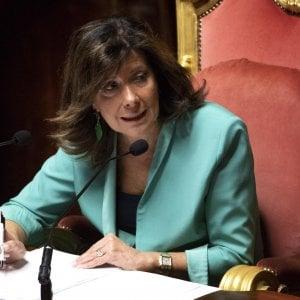Colombiane, la presidente del Senato in visita a Genova