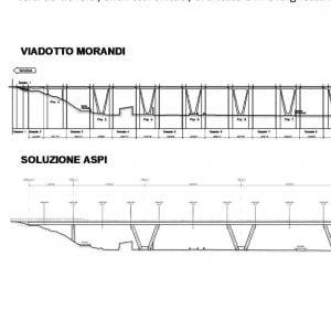 Autostrade, ecco il progetto del nuovo viadotto Polcevera, ma il governo la esclude dai lavori