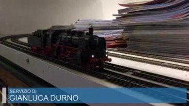 Il fascino dei trenini  che attira collezionisti anche dall'estero