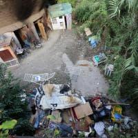 Le ruspe nel campo rom tra Campi e Coronata