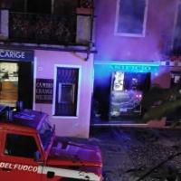 Portofino, a fuoco nella notte il panificio vicino alla piazzetta