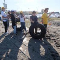 #oggi raccolgo io: i ragazzi delle scuole a Punta Vagno con Repubblica e Legambiente