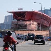 Crollo ponte: montata rampa che porta a casello aeroporto